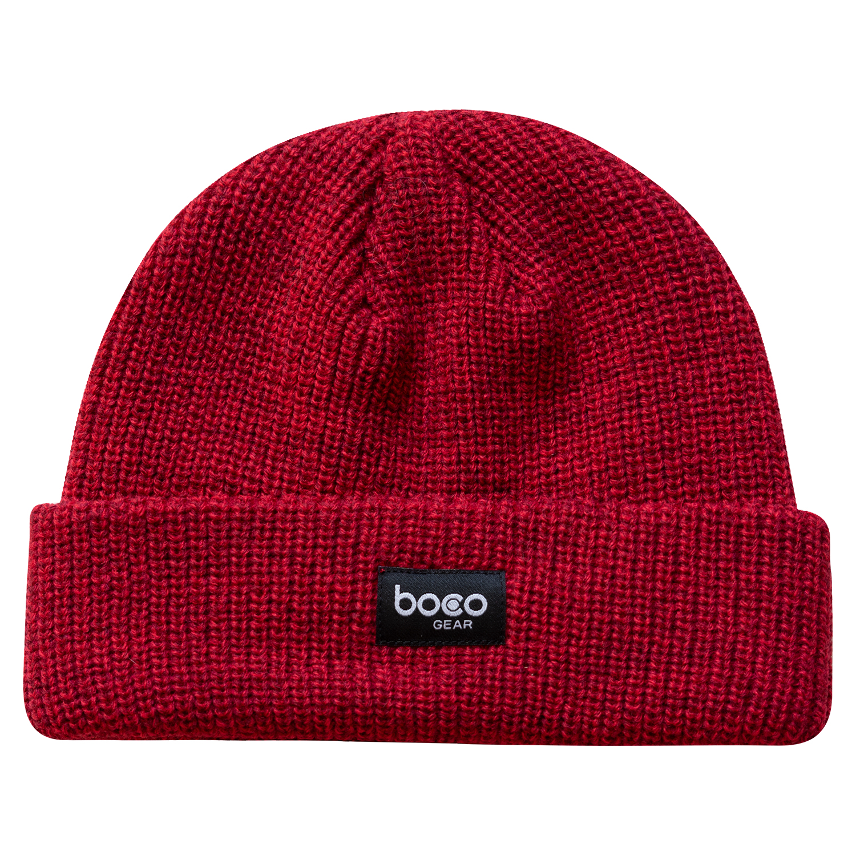 Fisherman Beanie Red Boco Gear