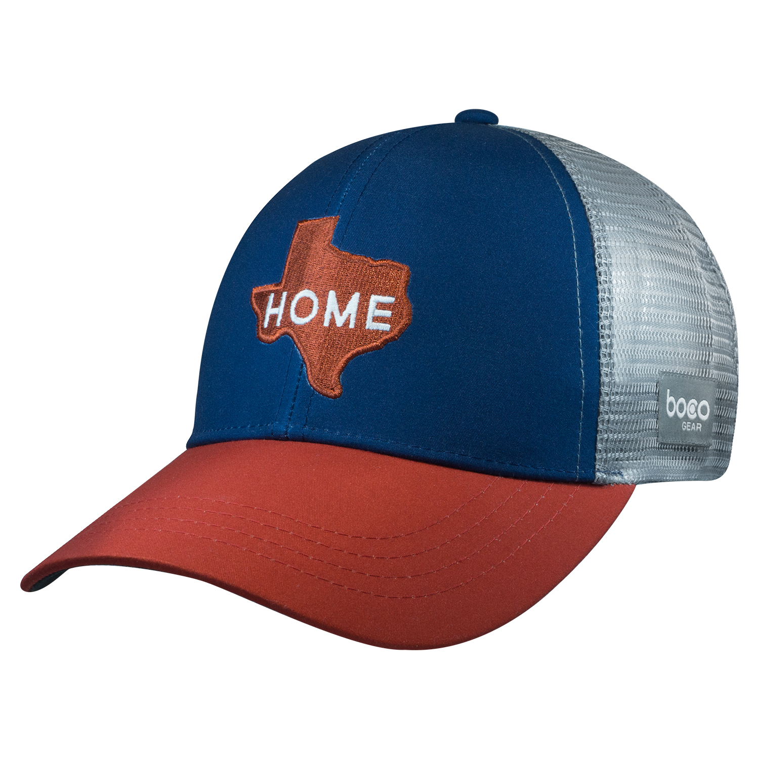 970a088e0043f Technical Trucker®- Texas – Home – Blue – BOCO Gear