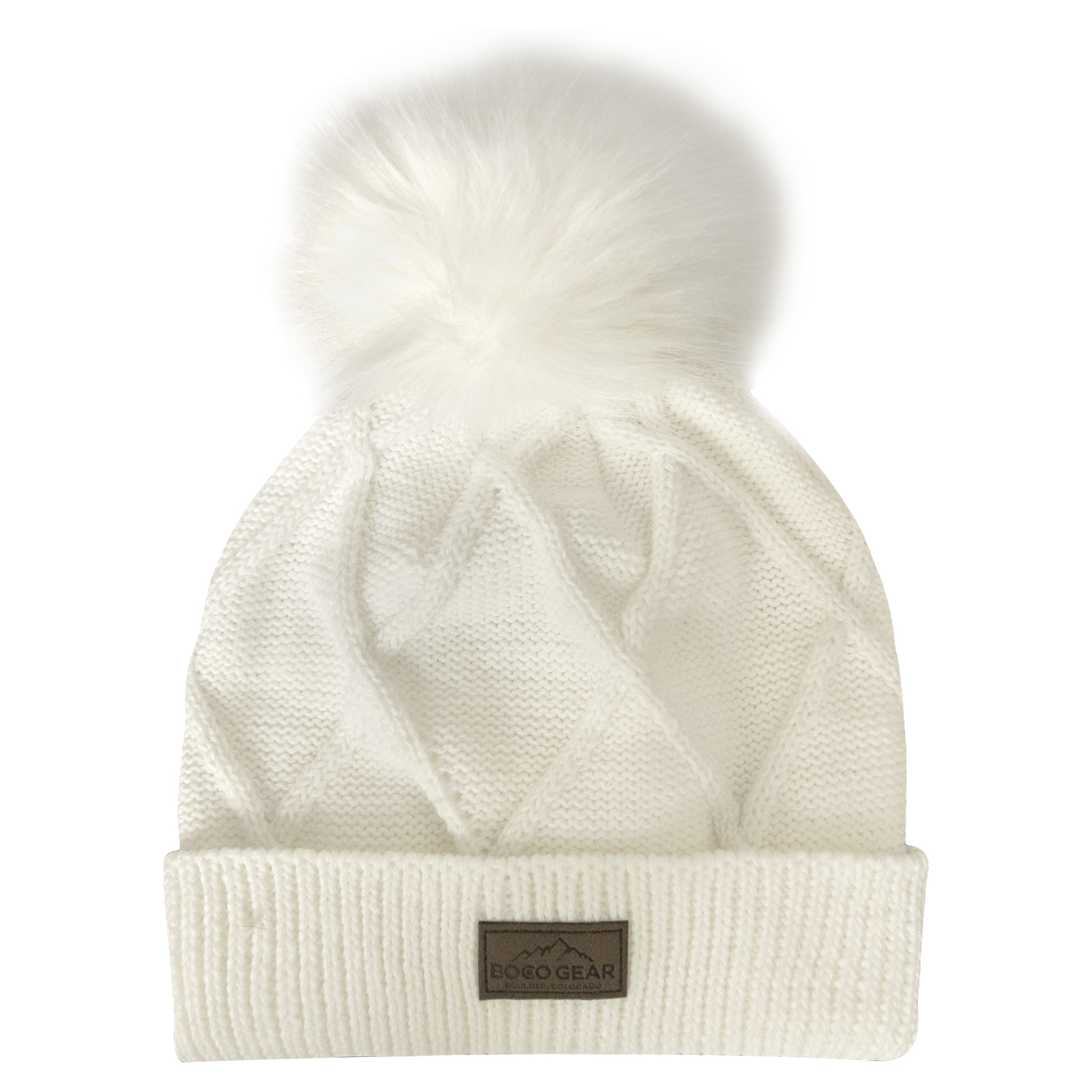 e8547b317 Women's Pom Pom Beanie – Antique White